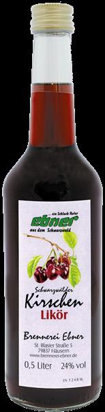 Ebner Schwarzwälder Kirschenlikör