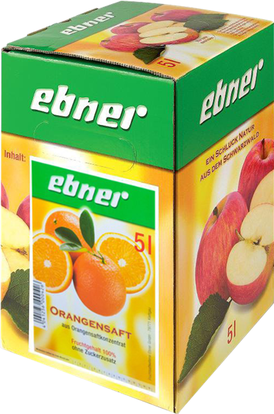 Ebner Orangensaft Bag-in-Box