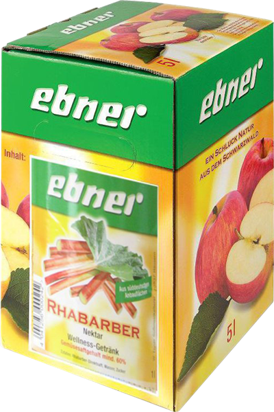 Ebner Rhabarber-Nektar Bag-in-Box