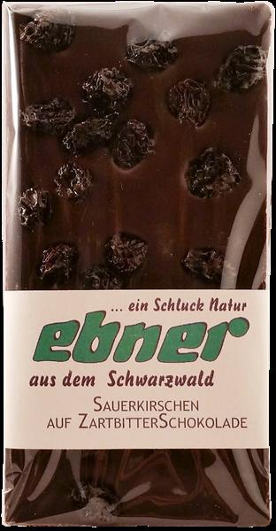 Ebner Sauerkirsch Zartbitter Schokolade