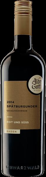 Alde Gott Spätburgunder Rotwein QbA Rot & Süß