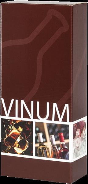 "Präsentkarton mit Schriftzug ""VINUM"""
