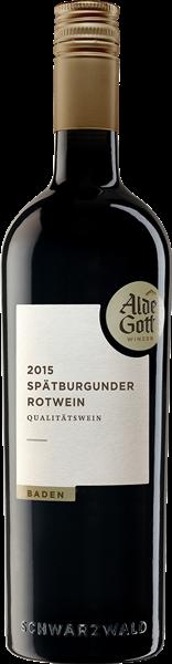 Alde Gott Spätburgunder Rotwein QbA mild