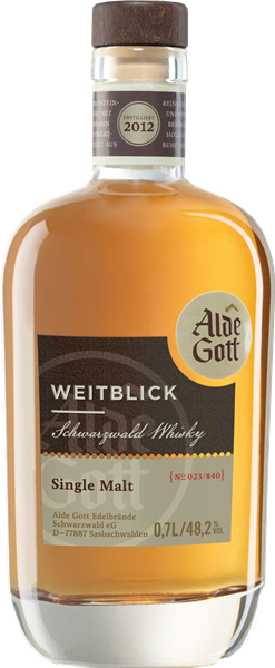 Alde Gott Schwarzwald Single Malt Whisky