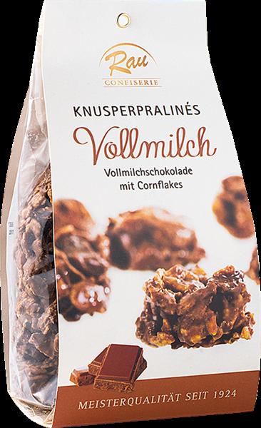 Confiserie Rau Knusperpraliné Vollmilch