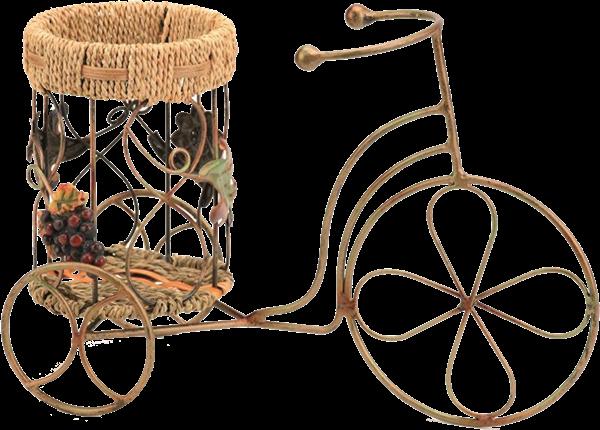 Fahrrad Metall Korb für 1 Flasche