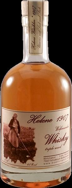 "Wolfenweiler Whisky ""Helene 1907"" triple wood"
