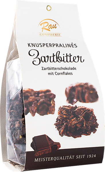 Confiserie Rau Knusperpraliné Zartbitter