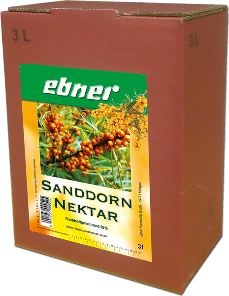 Ebner Sanddorn-Nektar Bag-in-Box