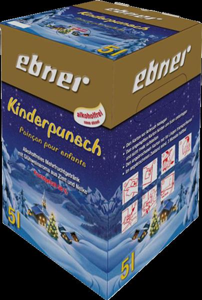 Ebner Kinderpunsch - Alkoholfreies Mehrfruchtgetränk Bag-in-Box