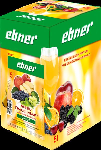 Ebner Apfel-Traubensaft Direktsaft Bag-in-Box