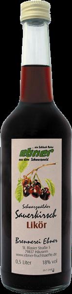 Ebner Schwarzwälder Sauerkirschlikör