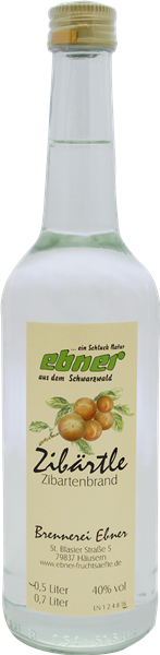 Ebner Zibärtle (Wildpflaume)