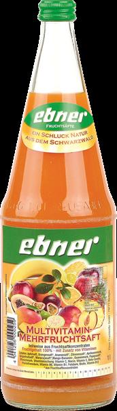 Ebner Multivitamin-Mehrfruchtsaft