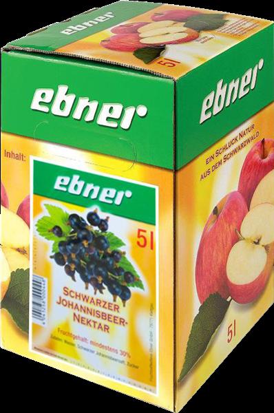 Ebner Schwarzer Johannisbeer-Nektar Bag-in-Box