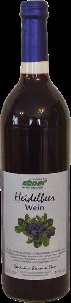 Ebner Heidelbeerwein