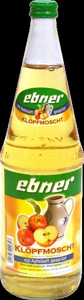 Ebner Klöpfmoscht - mit Apfelsaft gespritzt