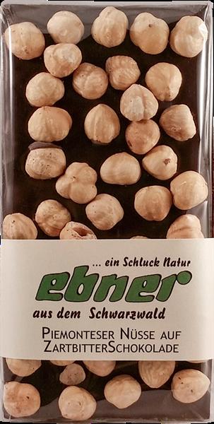 Ebner Vollmilch Schokolade mit Piemonteser Nuss