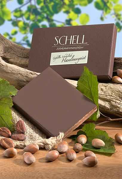 """Schell Gefüllte Schokolade """"Haselnuss"""""""