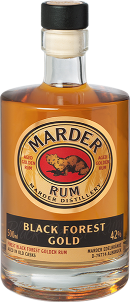 Marder Rum Black Forest Gold