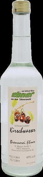 Ebner Schwarzwälder Kirschwasser 40%