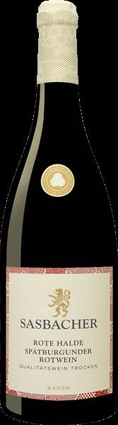 Sasbacher Rote Halde Spätburgunder Rotwein QbA trocken