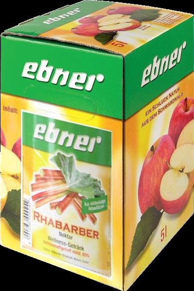 Ebner Rhabarber-Nektar Bag-in-Box