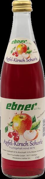 Ebner Apfel-Kirsch-Schorle aus Direktsaft