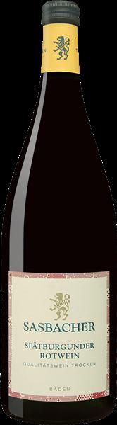 Sasbacher Spätburgunder Rotwein Qualitätswein trocken