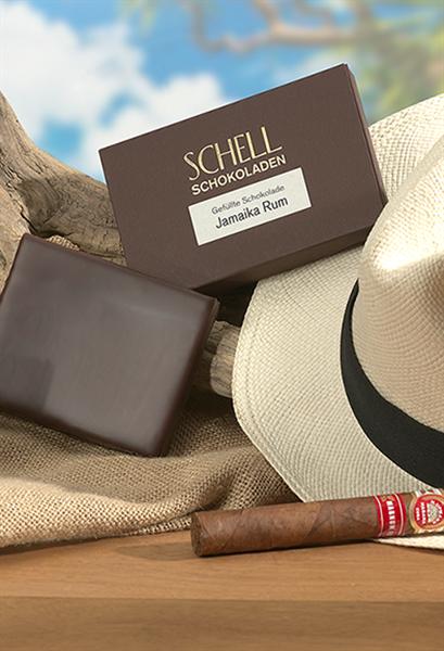 """Schell Gefüllte Schokolade """"Jamaika Rum"""""""