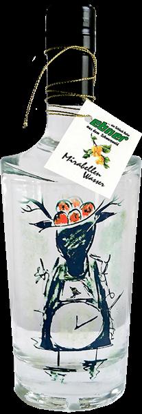 Mirabellenwasser - Design Schwarzwälder Kuckucksuhr