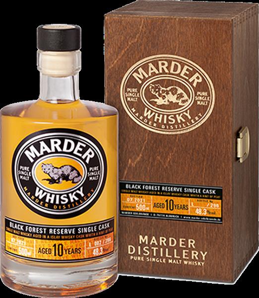Marder Black Forest Reserve Single Cask Whisky 10 Jahre