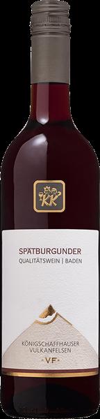 Kiechlinsbergen Vulkanfelsen Spätburgunder Rotwein Qualitätswein mild