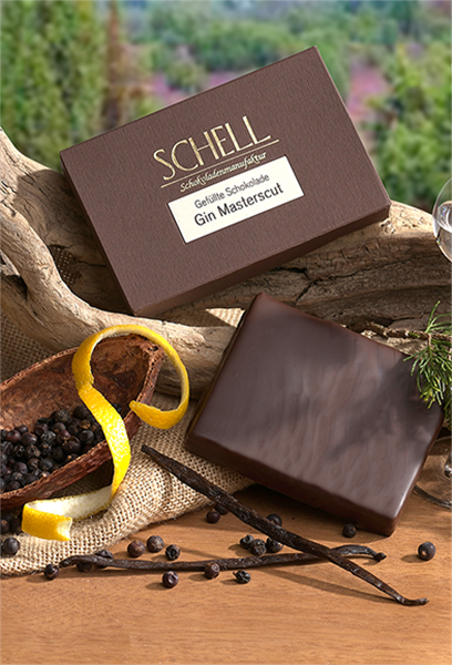 """Schell Gefüllte Schokolade """"Gin Masterscut"""""""