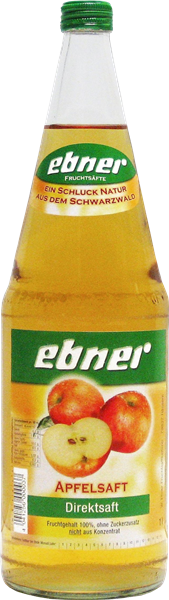 Ebner Apfelsaft Direktsaft klar