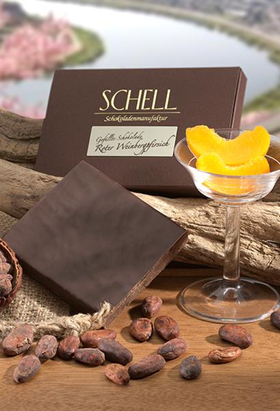 """Schell Gefüllte Schokolade """"Roter Weinbergpfirsich"""""""