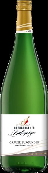 Oberbergener Grauer Burgunder Qualitätswein trocken