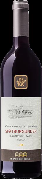 Königschafhauser Steingrüble Spätburgunder Rotwein Qualitätswein trocken