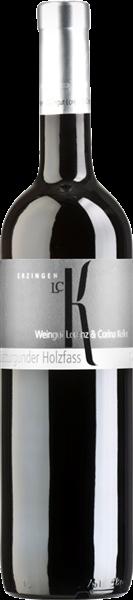 Erzinger Spätburgunder Rotwein Holzfass Qualitätswein trocken