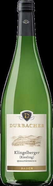 Durbacher Klingelberger Riesling Qualitätswein mild