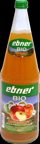 Ebner Bio-Apfelsaft Direktsaft naturtrüb