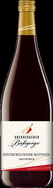 Oberbergener Spätburgunder Rotwein Qualitätswein halbtrocken