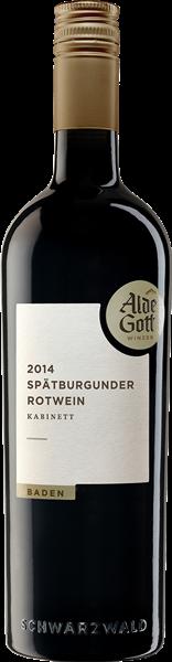 Alde Gott Spätburgunder Rotwein Kabinett mild