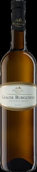 Oberkircher VINUM NOBILE Grauer Burgunder QbA trocken