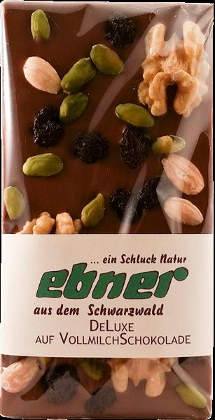 Ebner Vollmilch De Luxe Schokolade