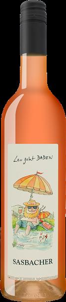 """Sasbacher """"Leo geht BADEN"""" Sommercuvée rosé Qualitätswein trocken"""