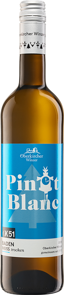 Oberkircher Pinot Blanc Weißwein OK51 QbA trocken