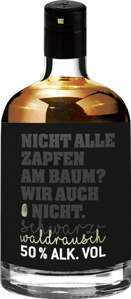 Schwarzwaldrausch Tannenzapfenlikör - Das Original