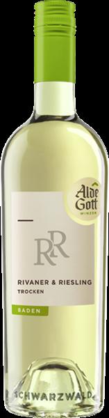 Alde Gott Rivaner & Riesling Qualitätswein trocken