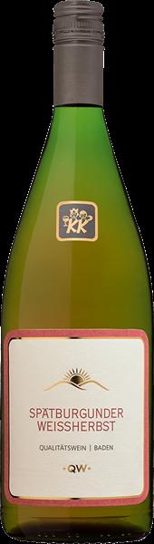 Kiechlinsbergen Spätburgunder Weißherbst Qualitätswein mild
